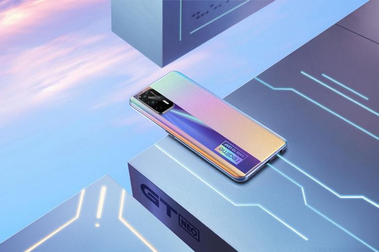 Realme GT Neo  самый дешёвый смартфон с 12 ГБ ОЗУ