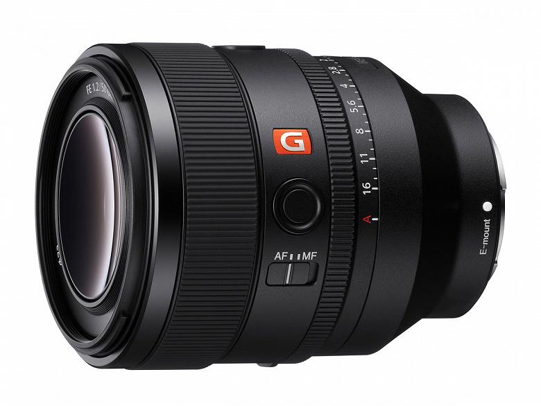 Представлен объектив Sony EF 50mm F1.2 GM