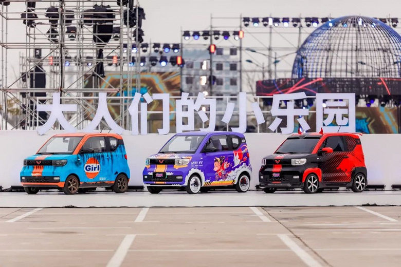 Wuling HongGuang Mini EV поставил рекорд продаж на рынке электромобилей: 200 000 авто за 200 дней