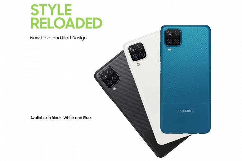 Представлен Samsung Galaxy M12  очень доступный монстр автономности с 90-герцевым экраном