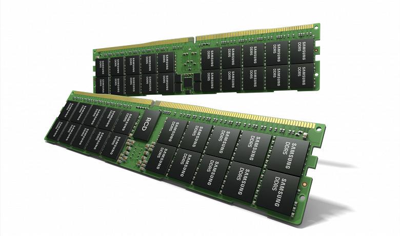 Samsung представила модуль оперативной памяти DDR5 объёмом 512 ГБ. Такая память ориентирована на ЦОД и суперкомпьютеры