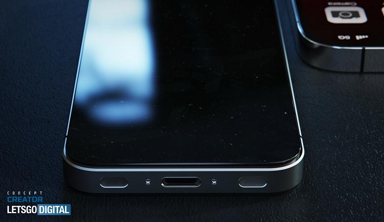 Обновлённая классика iPhone 4 без Face ID, но с подэкранным сканером отпечатков пальцев: реалистичные изображения и видео из известного дизайнера