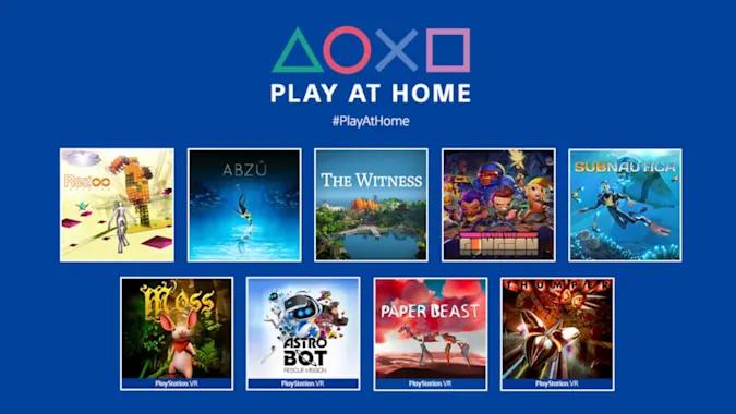 Play at Home набирает обороты: новая партия игр для Sony PlayStation 4 и PlayStation 5 стала бесплатной