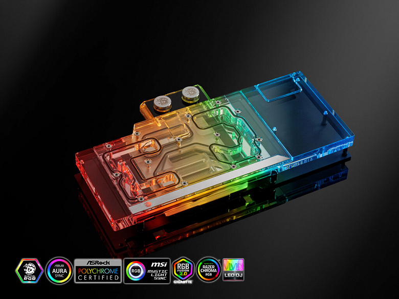 Серию Bitspower Classic пополнил водоблок для видеокарт Galax и KFA2 GeForce RTX 3090 EX Gamer