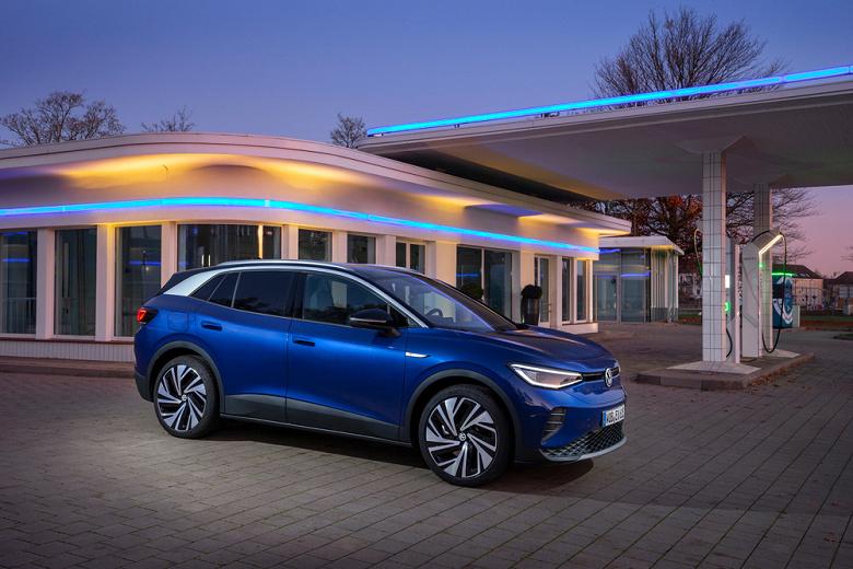 Автомобили Volkswagen ID.3 и ID.4 начнут обновляться по воздуху в России и Европе