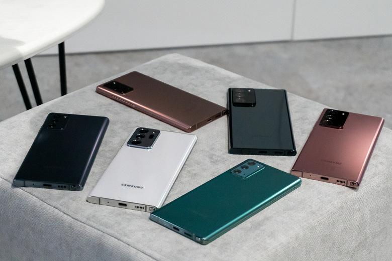 Флагманские Samsung Galaxy Note20 тоже получили огромное обновление, улучшающее камеру