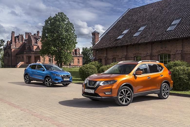 В России начали собирать кроссоверы Nissan с автопилотом