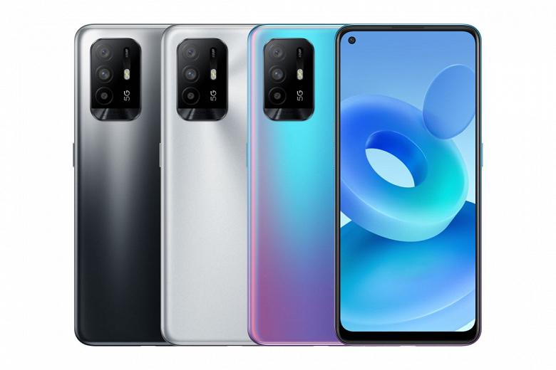 Dimensity 800U, NFC, ColorOS 11.1 и две SIM-карты с поддержкой 5G. Представлен смартфон Oppo A95 5G