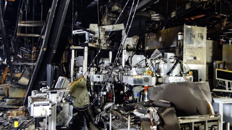 Пожар на фабрике Renesas приведет к тому, что в этом квартале будет выпущено на 1,6 млн автомобилей меньше, чем планировалось