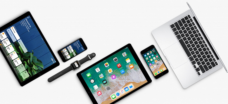 Продажи iPhone за год выросли более чем в полтора раза, а iPad  почти вдвое
