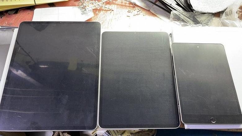 А вот и они  первые живые фото Apple iPad Pro и iPad mini 6