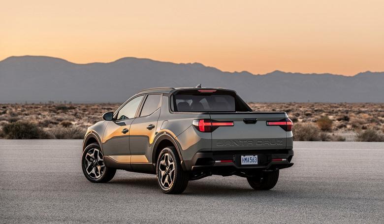 Hyundai Tucson в кузове пикапа. Представлен Hyundai Santa Cruz