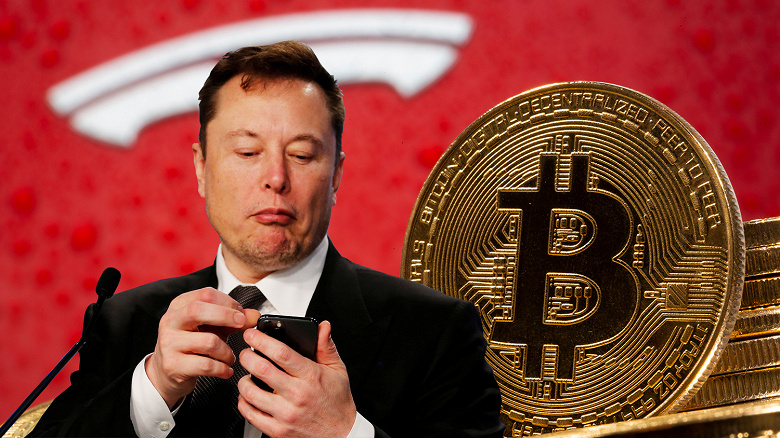 Bitcoin озолотил Илона Маска и Tesla