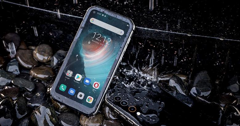 Неубиваемый смартфон с NFC, IP69K и аккумулятором ёмкостью 5280 мА•ч Blackview BL6000 Pro 5G подешевел до рекордной отметки
