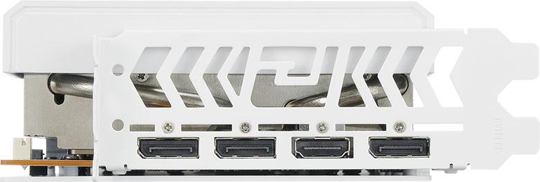 Видеокарту PowerColor Hellhound AMD Radeon RX 6700 XT Spectral White оценят те, для кого важен цвет компонентов ПК
