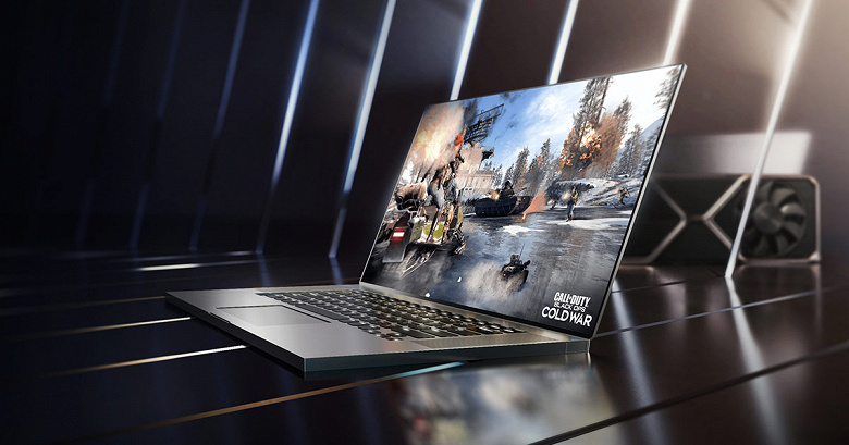 Представлены видеокарты Nvidia GeForce RTX 3050 Ti и RTX 3050 Ti, предназначенные для ноутбуков