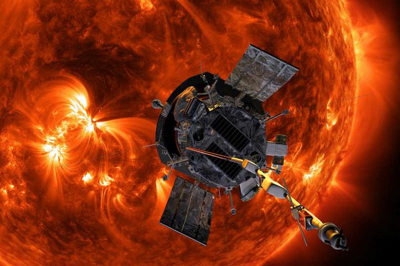 Самый быстрый объект, созданный человеком. Зонд Parker Solar Probe развил скорость около 150 км/с