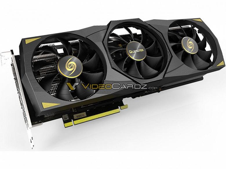 Так выглядит GeForce RTX 3080 Ti. Официальные изображения Leadtek GeForce RTX 3080 Ti WinFast Hurricane