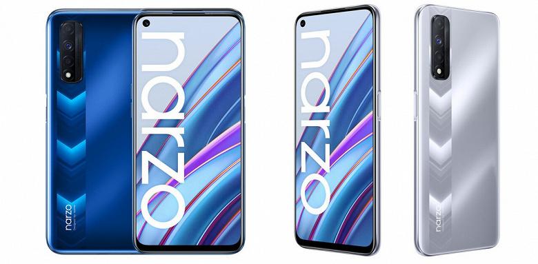 90 Гц, NFC, Helio G95, 5000 мАч и Realme UI 2.0. Представлен смартфон Realme Narzo 30