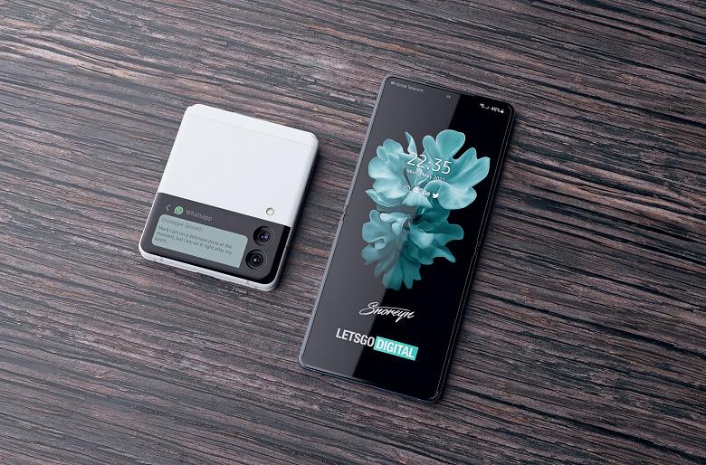 Samsung Galaxy Z Flip 3 показали во всей красе: качественные изображения в высоком разрешении