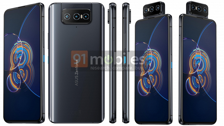 Zenfone 8 mini не будет. Вместо него  обычный Zenfone 8 с экраном 5,92 дюйма, Snapdragon 888, 64-мегапиксельной камерой и аккумулятором емкостью 4000