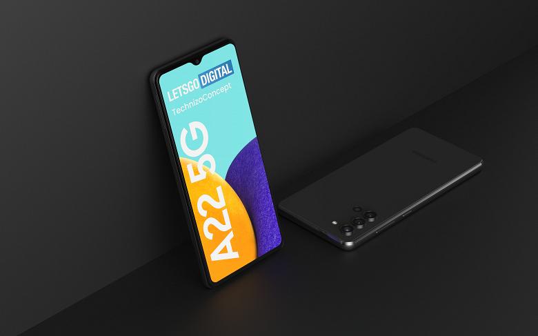 Первые детали о Samsung Galaxy F22: смартфон будет построен на базе Galaxy A22