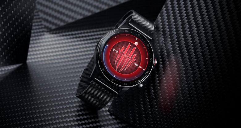 1,39 дюйма, ремешок из нержавеющей стали, GPS, SpO2 и водонепроницаемое исполнение. Представлены умные часы Red Magic Watch Stainless Steel Edition