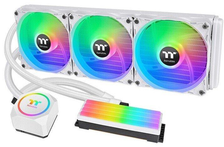 Системы жидкостного охлаждения Thermaltake Floe RC 240 Snow Edition и Floe 360 Snow Edition охлаждают не только процессоры, но и модули памяти