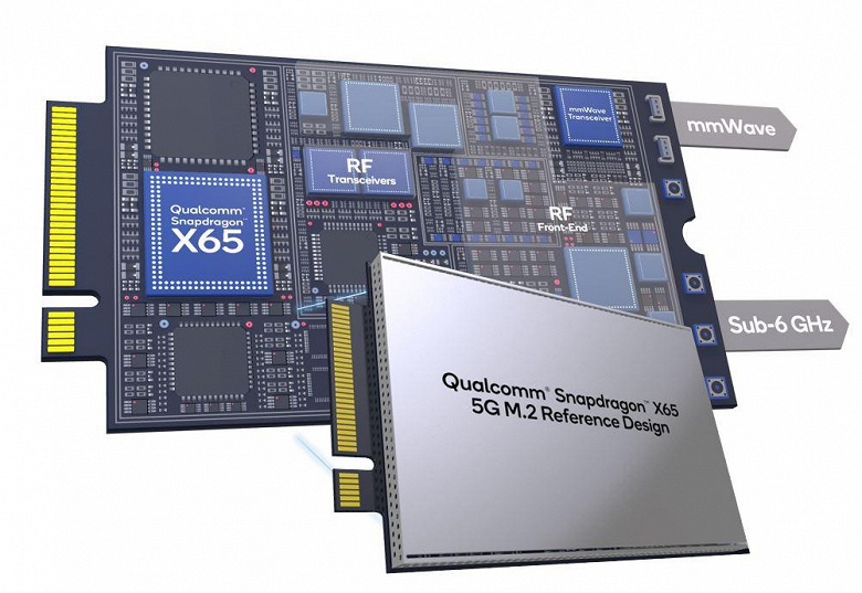 Когда установить модем 5G так же просто, как и SSD. Qualcomm представила Snapdragon X65 5G M.2 и X62 5G M.2