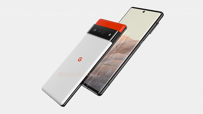 Первый смартфон с финальной Android 12 во всей красе. Большие и качественные рендеры Google Pixel 6 Pro от надежного источника