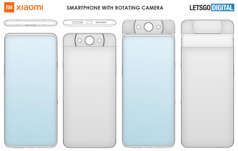 Xiaomi готовит смартфон в выдвижной поворотной камерой, как у Samsung Galaxy A80