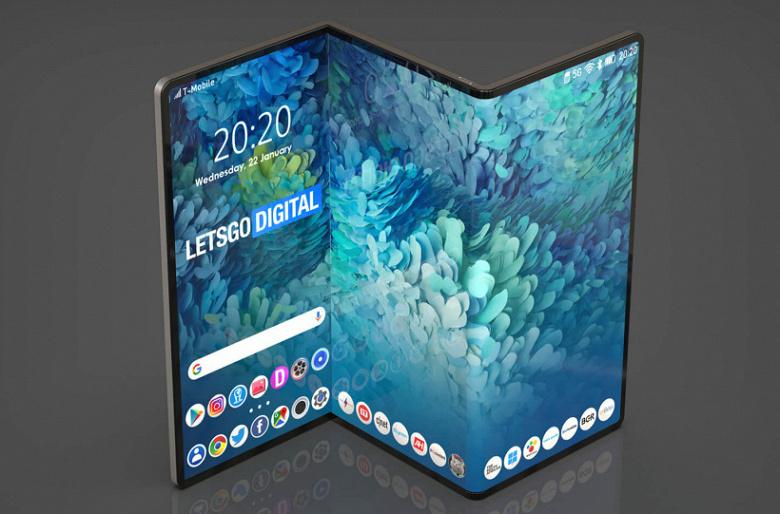 Экраны диагональю 6,23 и 7,56 дюйма, Snapdragon 888, IP53 и подэкранная фронтальная камера. Раскрыты характеристики флагманского смартфона Samsung Ga