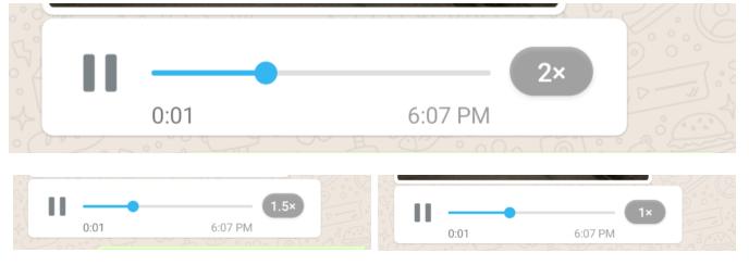 Telegram так умеет уже несколько лет: ускорение голосовых сообщений WhatsApp стало доступно для всех