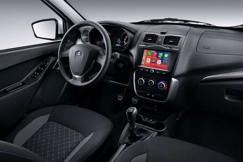 LADA Granta получила новую мультимедийную систему  с 7-дюймовым экраном, Яндекс.Авто, поддержкой Apple CarPlay и Android Auto