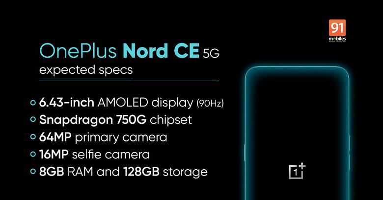Недорогой OnePlus Nord CE 5G в первом рекламном ролике. Похоже, дизайн оригинального Nord сохранится