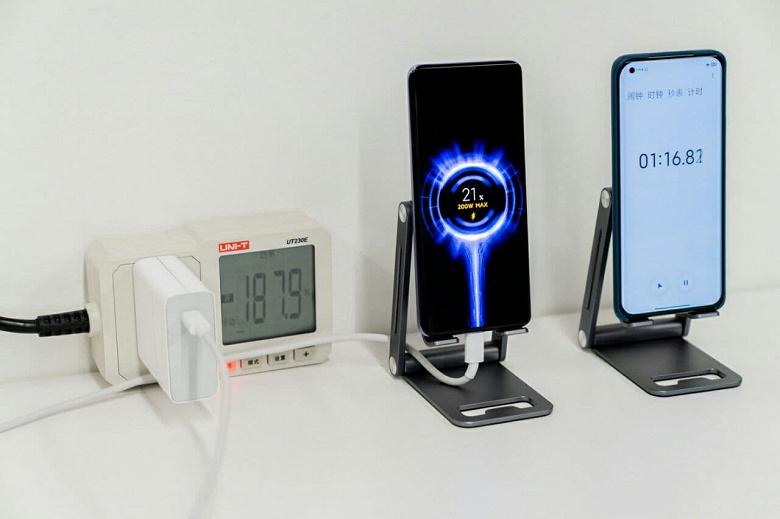 Сверхбыстрая зарядка для смартфонов Xiaomi HyperCharge в реальности оказалась еще быстрее