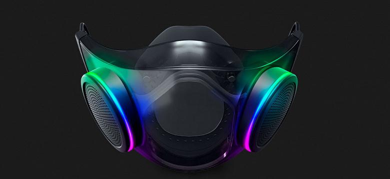 «Самая умная защитная маска» Razer Project Hazel с подсветкой, микрофоном и динамиком выйдет до конца года