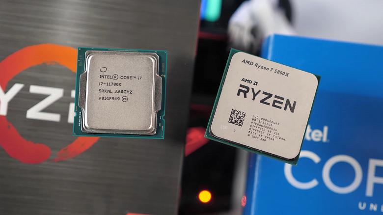 Ryzen7 5800X — самый быстрый игровой процессор в классе, но самый выгодный у Intel