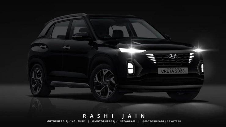 Hyundai Creta 2022 позаимствует дизайн Hyundai Tucson нового поколения