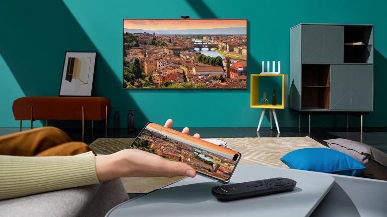 В России представлены телевизоры Huawei Vision S с HarmonyOS 2.0, первые покупатели получают подарки