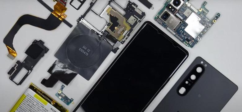 Новый флагман Sony Xperia 1 III получил всего 6 баллов из 10 возможных за ремонтопригодность