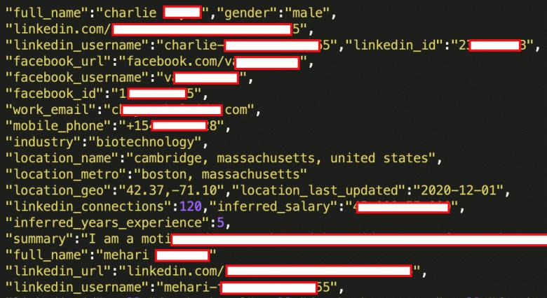 Данные почти всех пользователей LinkedIn выставлены на продажу. Включая номера телефонов и физические адреса