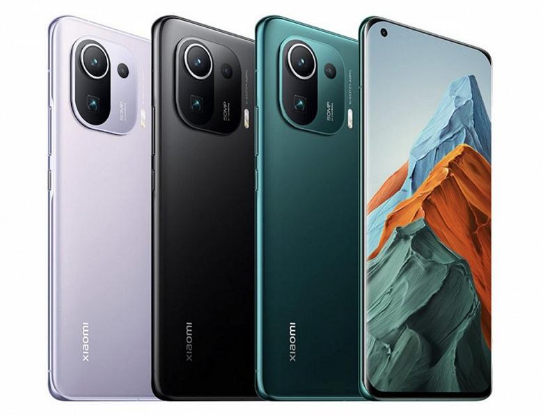 Xiaomi Mi 11 Pro, Xiaomi Mi 11 и Xiaomi Mi 10S стали самыми продаваемыми смартфонами в своих ценовых категориях в Китае