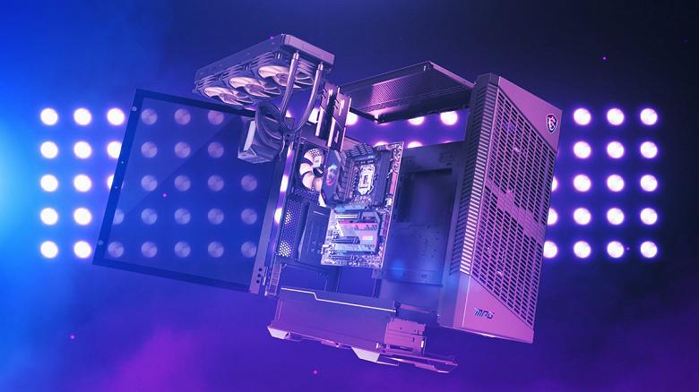 Набор MSI MPG Gaming Maverik включает системную плату, процессор, память, СЖО и корпус для игрового ПК