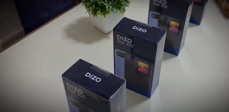 Первый телефон Dizo показали вживую на видео