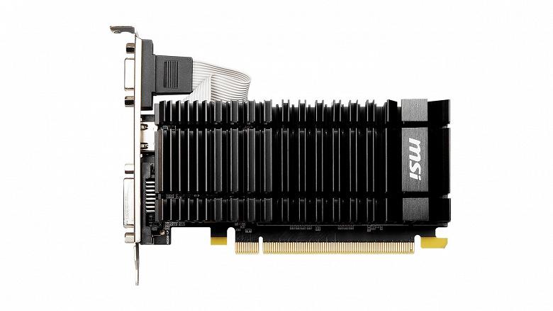 Пока GeForce RTX 30 в дефиците можно купить возрождённую семилетнюю GeForce GT 730