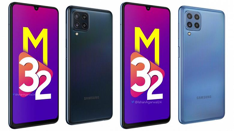 Монстр автономности Samsung Galaxy M32 предстал на официальных изображениях