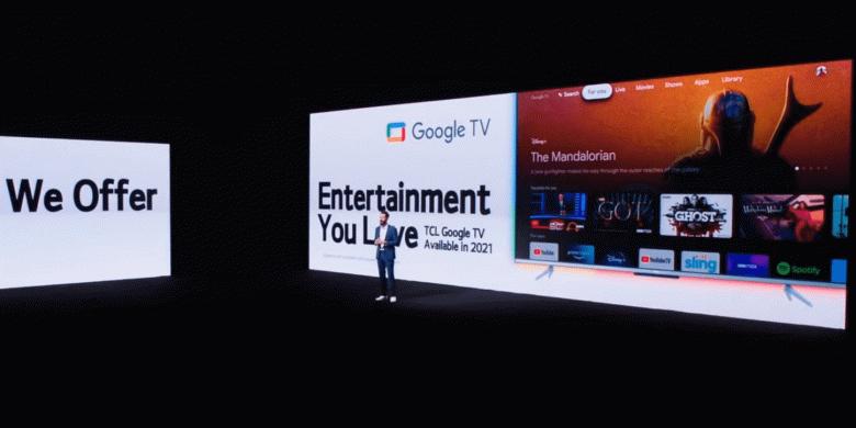 Анонсированы новые телевизоры miniLED и QLED на платформе Google TV от компании TCL