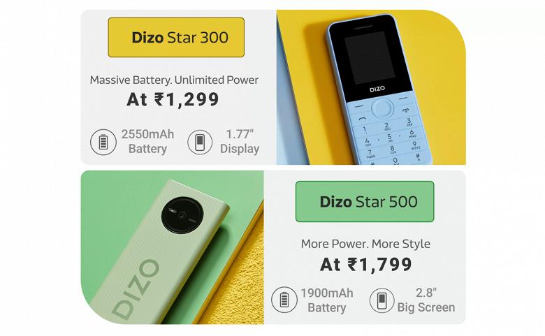 Представлены первые телефоны Realme Dizo