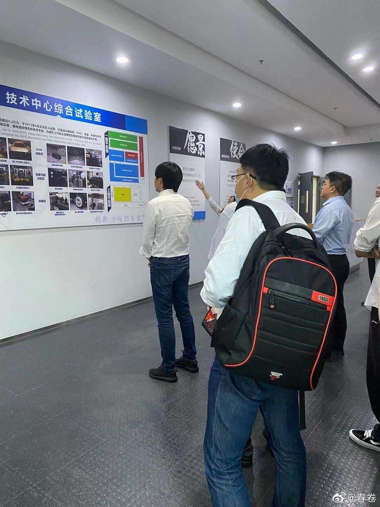 Электромобили Xiaomi может выпускать SAIC Motor